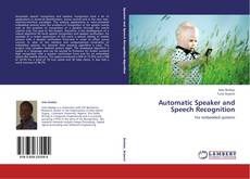 Обложка Automatic Speaker and Speech Recognition
