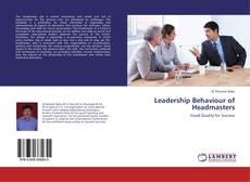 Couverture de Leadership Behaviour of Headmasters
