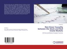 Capa do livro de Non-linear Causality between the Stock and Real Estate Markets
