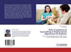 Role of guidance & Counselling in Psycho-Social Adjustment of Orphans kitap kapağı