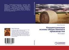 Bookcover of Концептуальные основы общественного производства