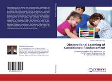 Bookcover of Observational Learning of Conditioned Reinforcement