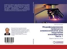 Bookcover of Модифицирование природных алюмосиликатов для получения алкилбензина Часть 1