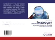 Трансграничный инвестиционный фонд kitap kapağı