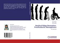 Buchcover von Residual Ridge Resorption-Prosthodontic Management