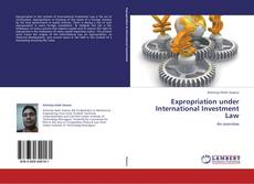 Couverture de Expropriation under International Investment Law