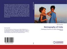 Bookcover of Demography of India