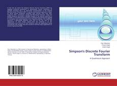 Bookcover of Simpson's Discrete Fourier Transform
