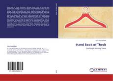 Borítókép a  Hand Book of Thesis - hoz