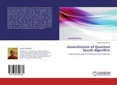 Portada del libro de Generalization of Quantum Search Algorithm