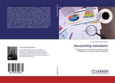 Buchcover von Accounting valuations