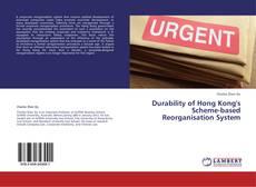 Capa do livro de Durability of Hong Kong's Scheme-based Reorganisation System