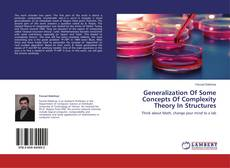Bookcover of Generalization Of Some Concepts Of Complexity Theory In Structures