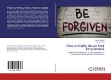 Capa do livro de How and Why do we Seek Forgiveness?