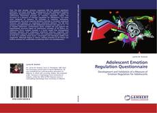 Bookcover of Adolescent Emotion Regulation Questionnaire