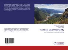 Bookcover of Thickness Map Uncertainty