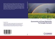 Borítókép a  Economics of Free Electricity To Punjab Farmers - hoz
