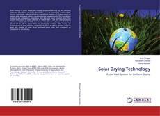 Buchcover von Solar Drying Technology