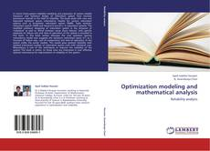 Couverture de Optimization modeling and mathematical analysis