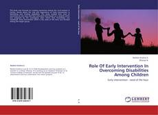 Обложка Role Of Early Intervention In Overcoming Disabilities Among Children