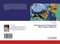 Bookcover of Management of Congenital UteroVaginal Agenesis