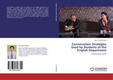 Обложка Conversation Strategies Used by Students of the English Department