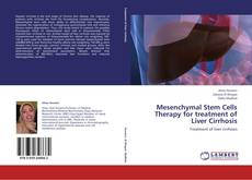 Bookcover of Mesenchymal Stem Cells Therapy for treatment of Liver Cirrhosis