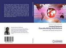 Capa do livro de United Nations Peacebuilding Architecture