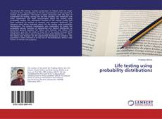 Couverture de Life testing using probability distributions