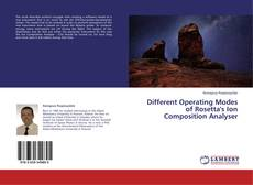 Buchcover von Different Operating Modes of Rosetta's Ion Composition Analyser
