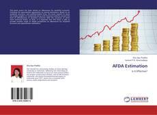 AFDA Estimation的封面