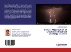 Buchcover von Surface Modification of Graphite by Electrical Discharge Machine