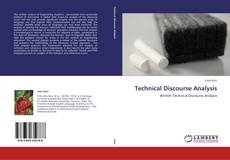 Portada del libro de Technical Discourse Analysis