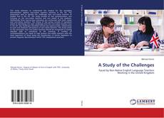 Bookcover of A Study of the Challenges