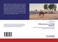 Bookcover of Effectiveness of FGM Projects