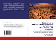 Обложка Девонские и нижнекаменноугольные отложения Прикаспийской впадины