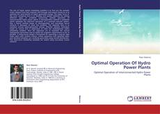 Buchcover von Optimal Operation Of Hydro Power Plants