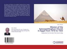 Bookcover of Mission of the Episcopal/Anglican Church in Egypt from 1918 to 1925