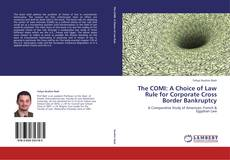 The COMI: A Choice of Law Rule for Corporate Cross Border Bankruptcy kitap kapağı