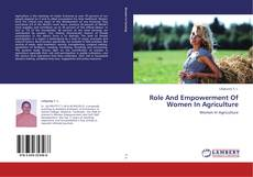 Portada del libro de Role And Empowerment Of Women In Agriculture