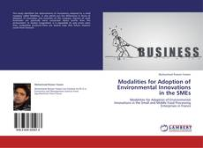 Buchcover von Modalities for Adoption of Environmental Innovations in the SMEs