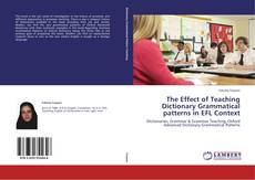 Couverture de The Effect of Teaching Dictionary Grammatical patterns in EFL Context