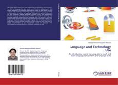Capa do livro de Language and Technology Use