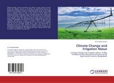 Capa do livro de Climate Change and Irrigation Nexus