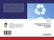 Bookcover of Hydrogen Economy: A Solution To Energy Problems