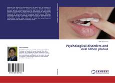 Bookcover of Psychological disorders and oral lichen planus
