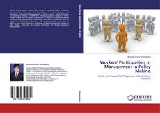 Workers' Participation In Management In Policy Making kitap kapağı
