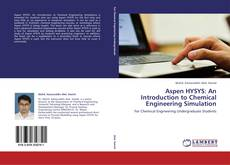 Buchcover von Aspen HYSYS: An Introduction to Chemical Engineering Simulation