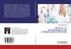 Buchcover von HPLC for 1,4-benzodiazepines and antidepressants in Bio-fluids