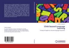 Обложка Child Second Language Learning